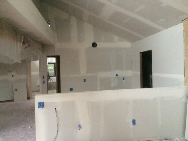 Kitchen Half Wall
