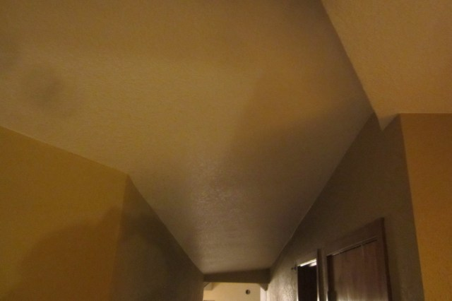 Light tan ceiling