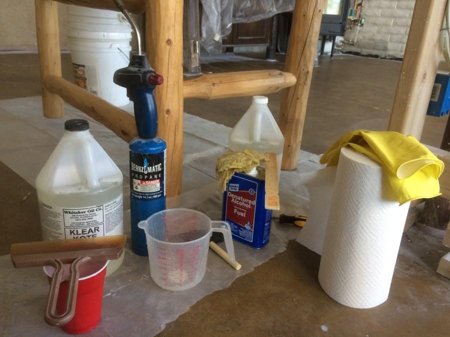 Bar Coat Materials and Supplies