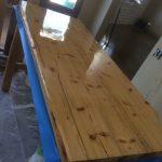 Second coat second counter top
