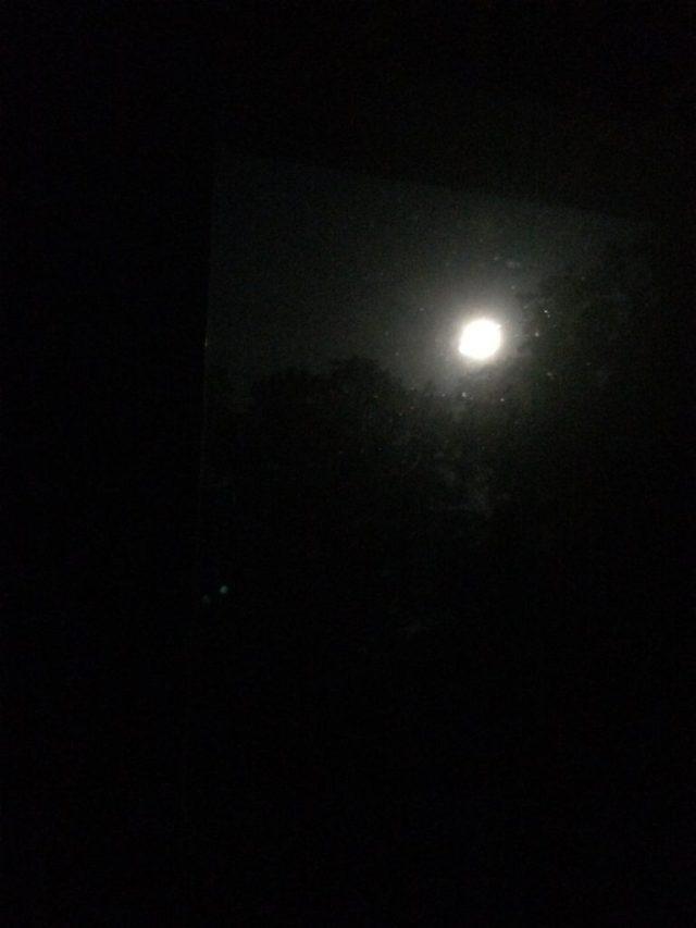 """Strawberry"" Full Moon"