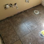 Back edge of tile to fill in