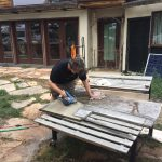 Cutting the slab