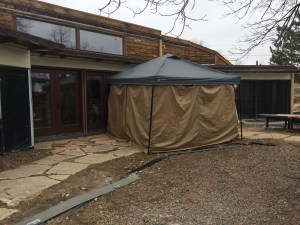 Connect Tent with Walls