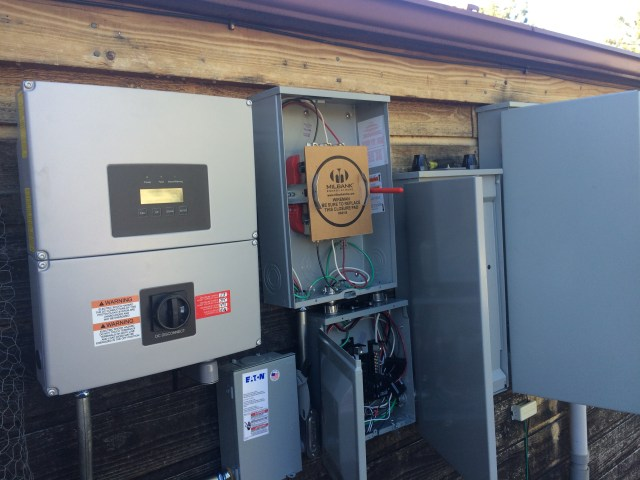 Inverter and power boxes