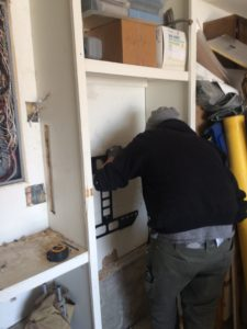 Installing bracket