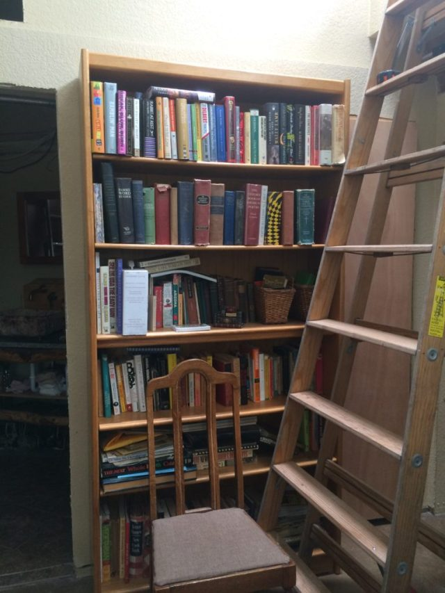 Big and tall bookshelf