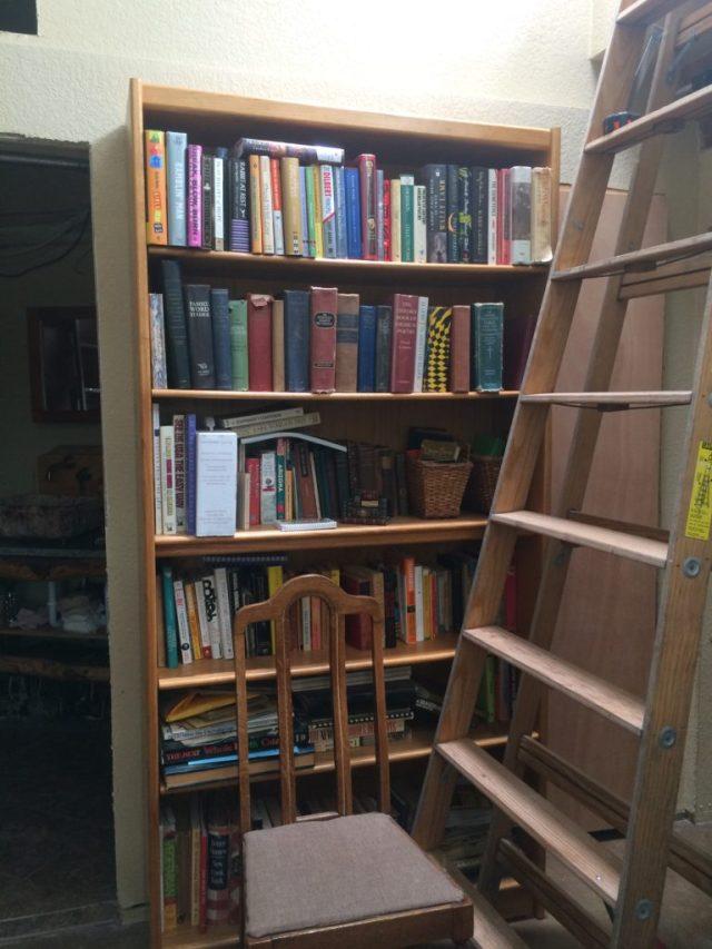 Big and tall bookshelf