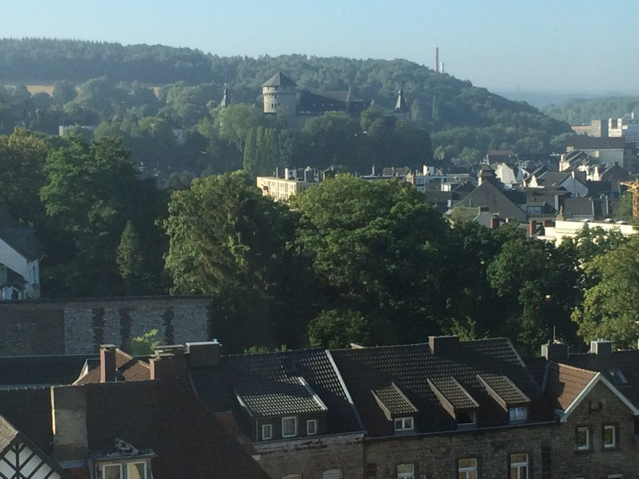 Stolberg Castle from Hospital Window