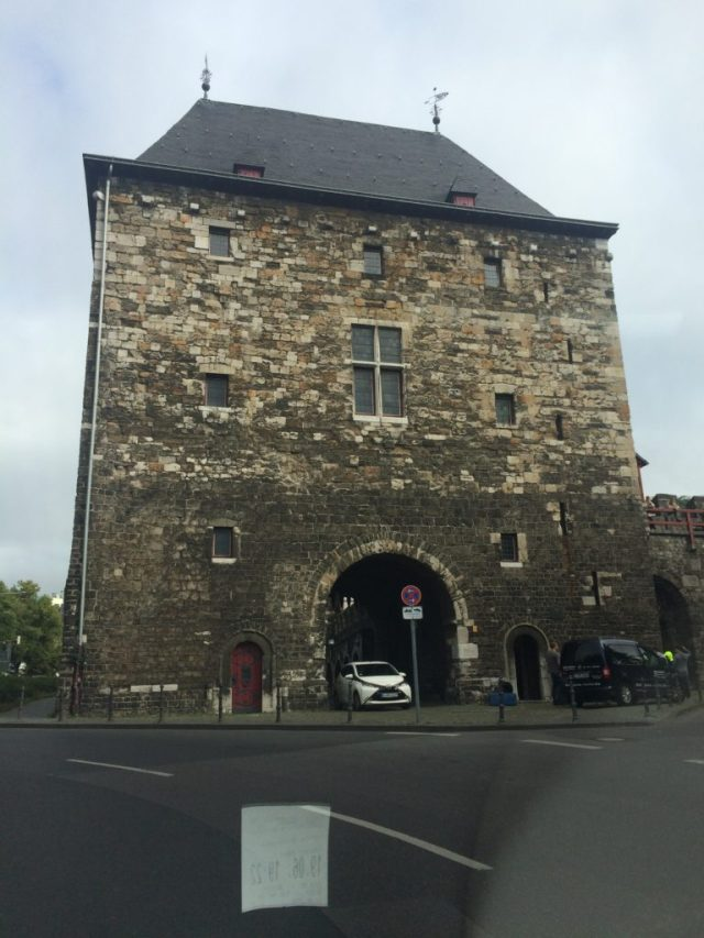 Old city fort and wall