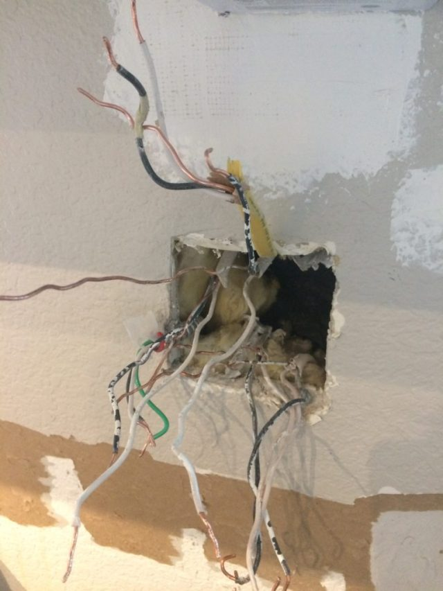 Replacing junction box
