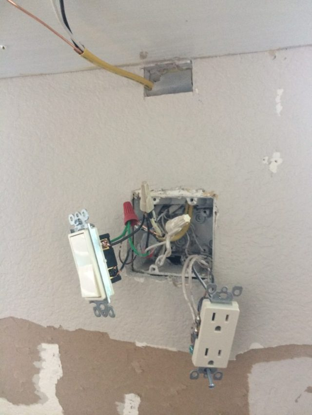 Adding LED lights to switch