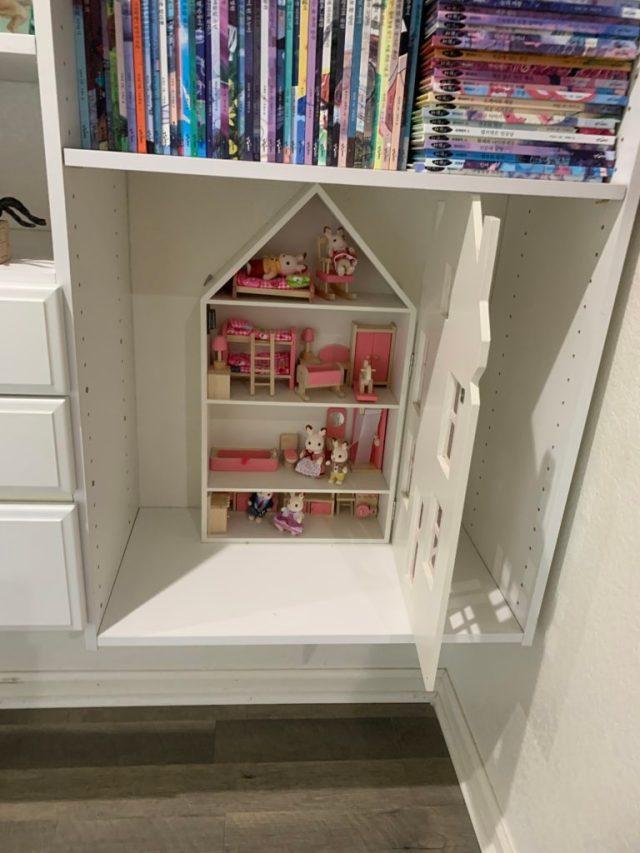 Dollhouse arranged