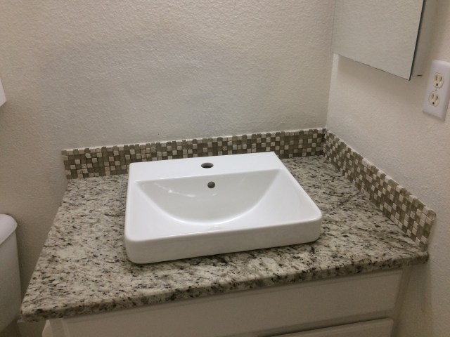 Sink in place