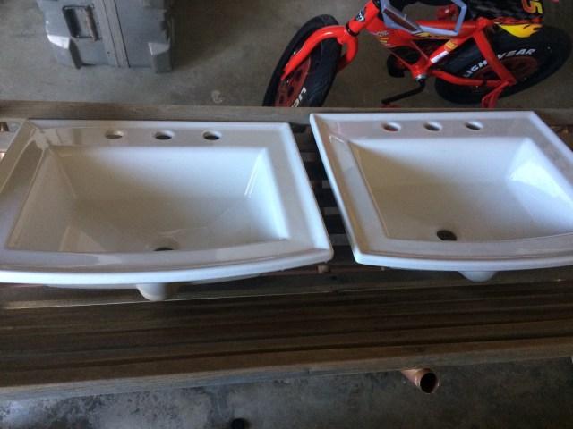 New sinks from Craigslist ($80)