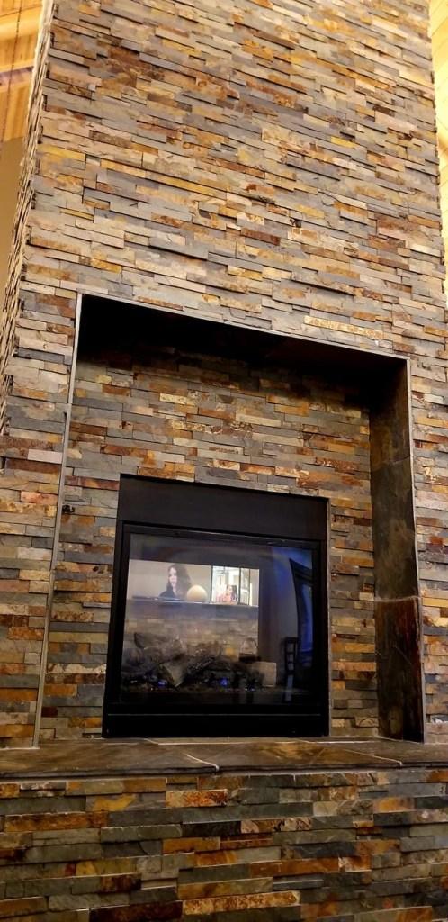 Fireplace at Mt. Princeton Hot Springs