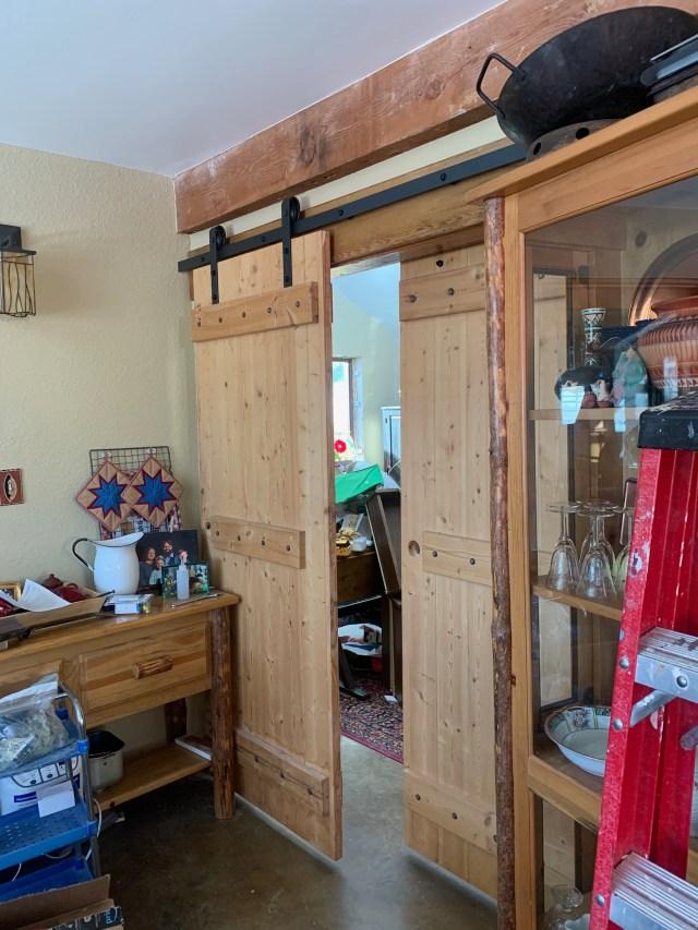Second door installed