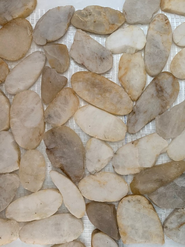 New pebble tile