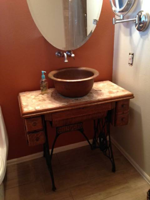 Treadle Sewing Sink Stand