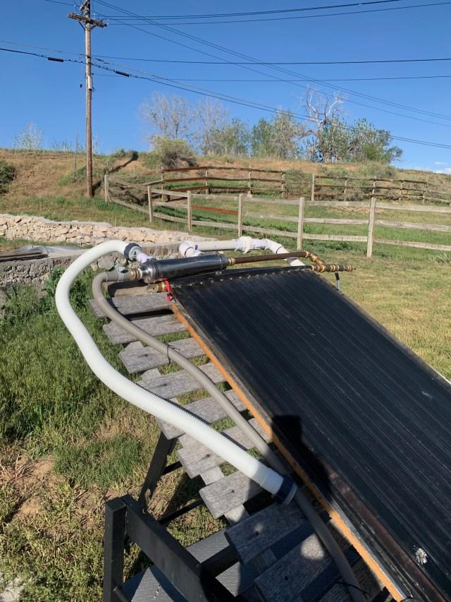 Solar Tube Installed