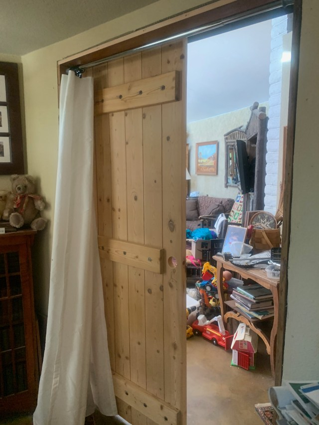 Fitting the barn door