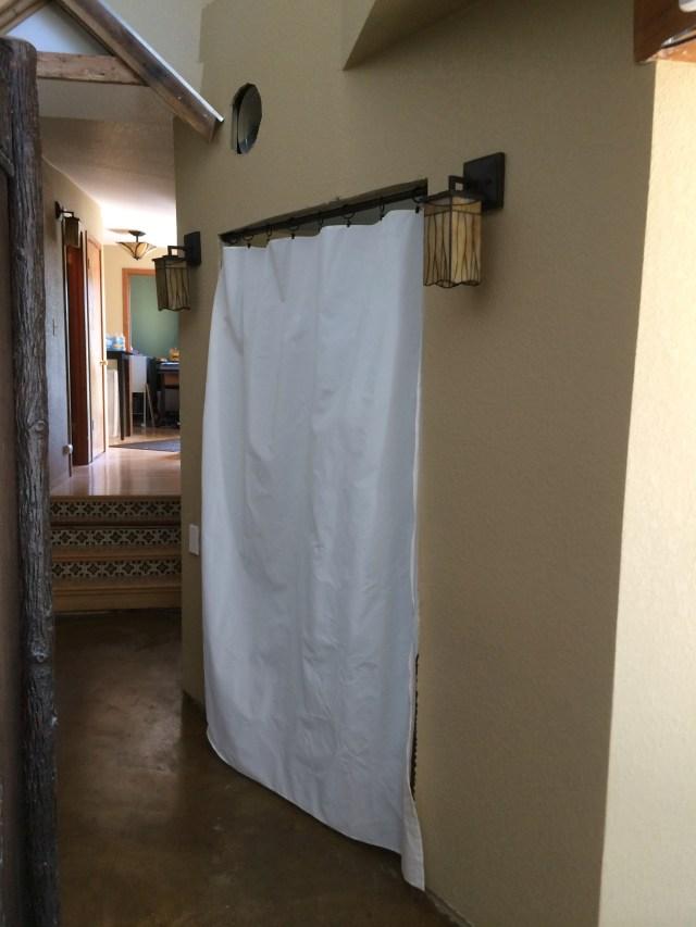 Master Bedroom Curtain