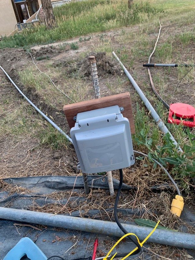 Pool power box
