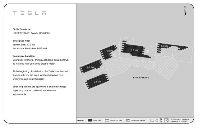 Tesla Solar Design