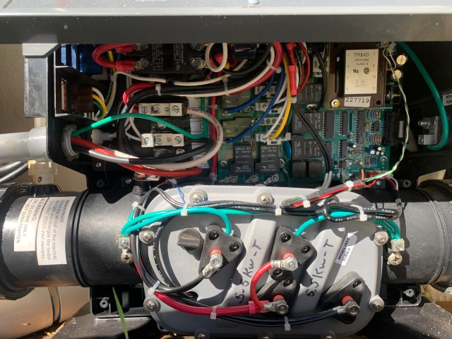 Incorrect wiring ruined the system