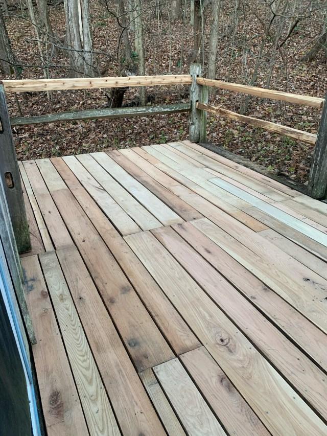 New back deck