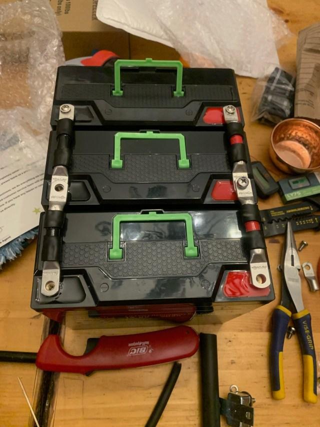 LiFePo4 20 amp batteries