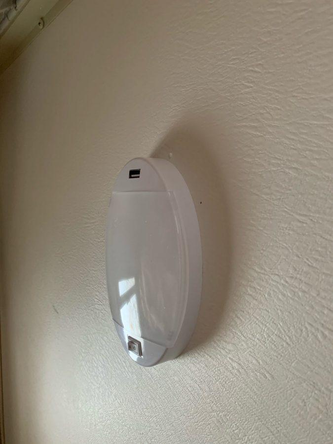 New light installed