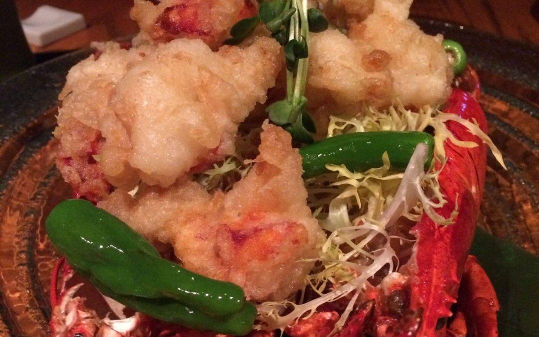 Lobster Tempura Nobu Style!