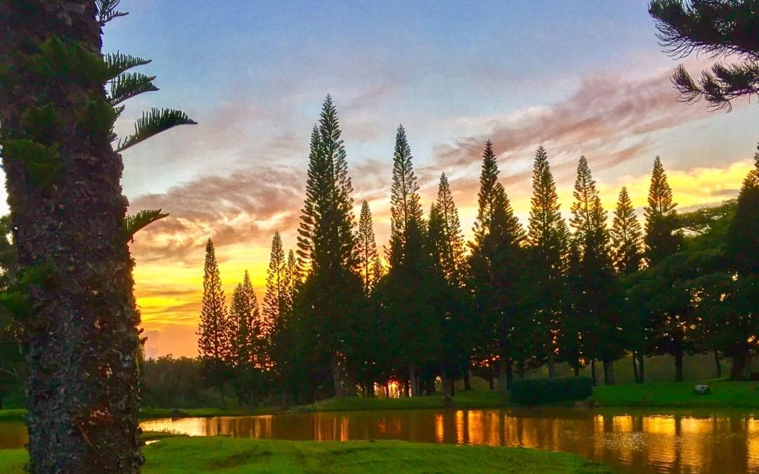 Ko'ele Sunset…Lāna'i, Hawai'i