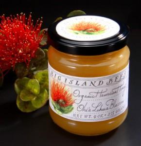 'Ohi'a Lehua Blossom Organic Hawaiian Honey from Big Island Bees