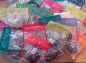 So many sachets, so little time