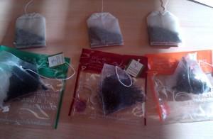 Take the tea bag/sachet challenge — we did it using Earl Grey, Assam and Chai.