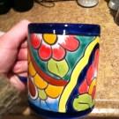 My favorite mug, seen blurry at 7 a.m., pre-caffeination.