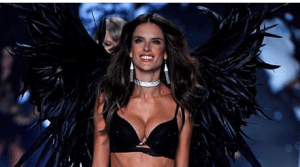 Alessandra Ambrosio's wings are powered by Organic Chamomile. OUR Organic Chamomile.