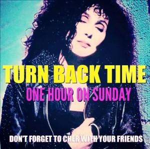 Thanks, Cher!