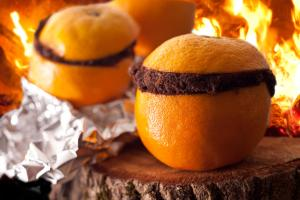 (Baked in an orange. How awesome is that?!)