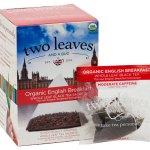 English Breakfast tea retail box