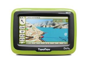 TwoNav Delta es compatible con Navionics para usar el GPS en la navegación marítima.