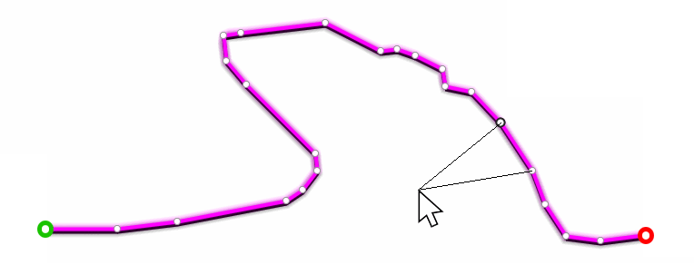 Land : améliorations apportées à l'éditeur de traces