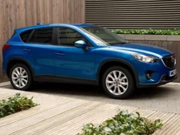 2012 Mazda CX5 in blue