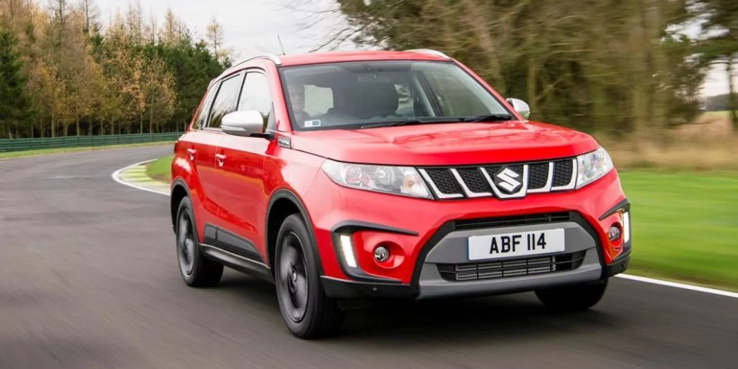 All new Suzuki Vitara Boosterjet front quarter