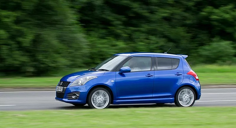 Suzuki swift sport in blue