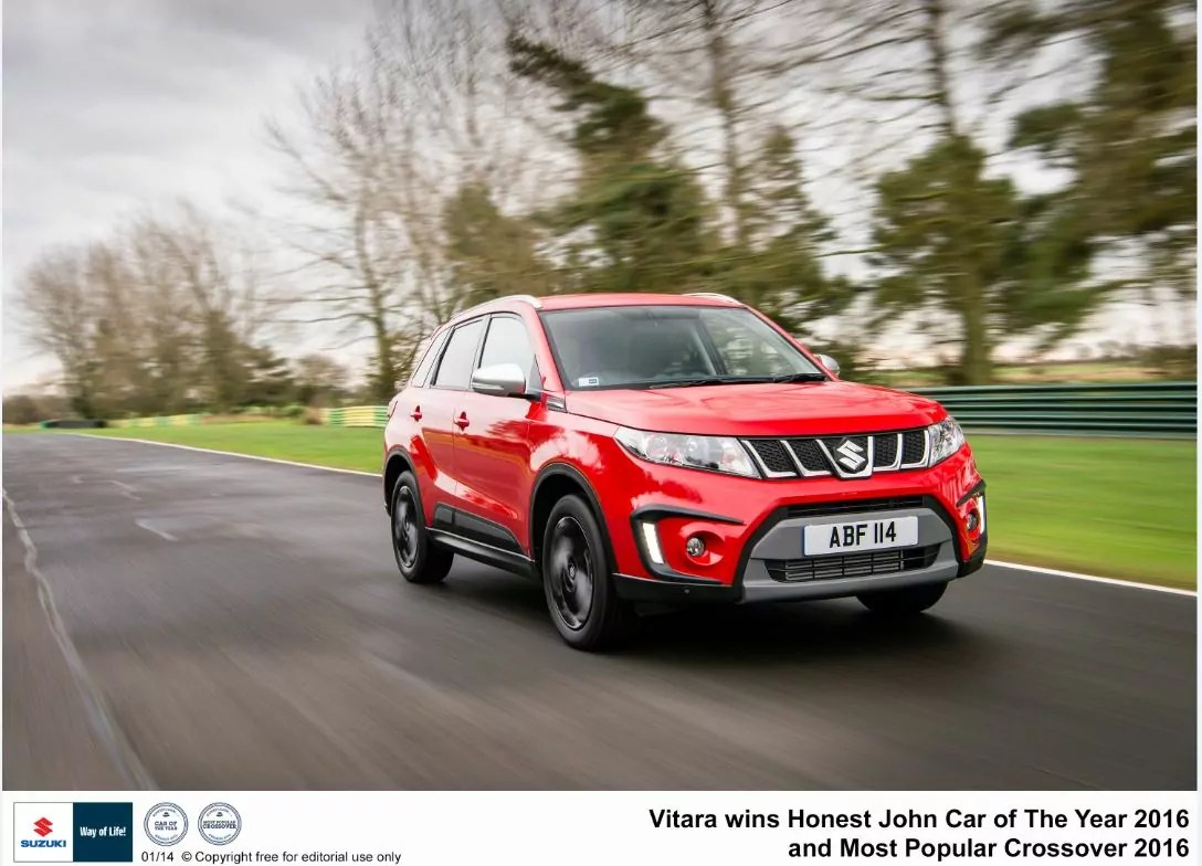 Suzuki Vitara wins Car of the Year