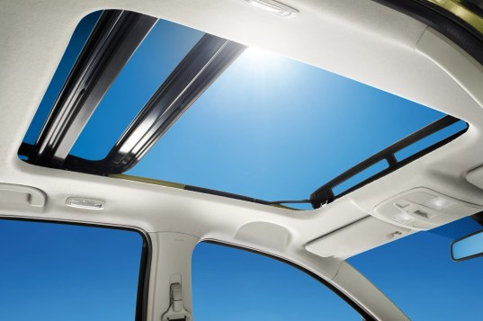 SX4 S-Cross Panoramic Sunroof