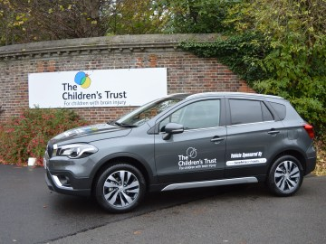 Suzuki S-Cross at Children's Trust